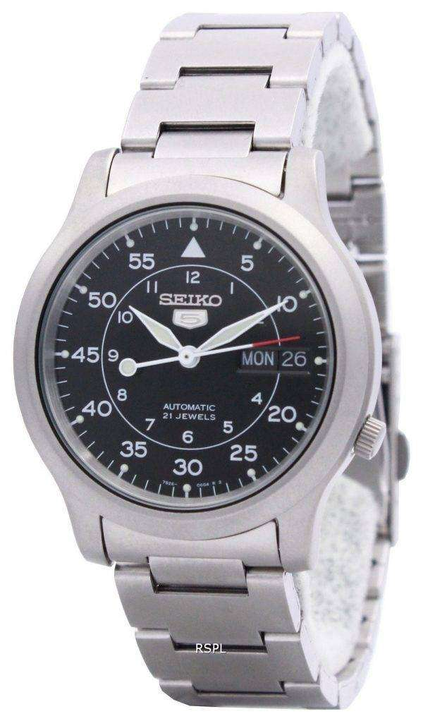 Seiko 5 Automatic 21 Jewel SNK809K1 SNK809K Mens Watch