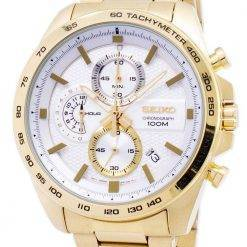 Seiko Chronograph Tachymeter Quartz SSB286 SSB286P1 SSB286P Men's Watch