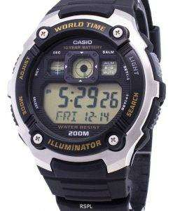 Casio Youth AE-2000W-9AV Illuminator 200M Digital Men's Watch
