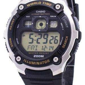 Casio Youth AE-2000W-9AV Illuminator 200M Digital Men's Watch
