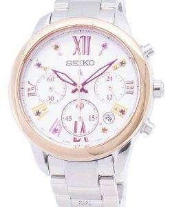 Seiko Lukia Limited Edition SRWZ82 SRWZ82P1 SRWZ82P Chronograph Women's Watch