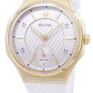 Bulova CURV 98R237 Quartz Diamond Accents Women's Watch
