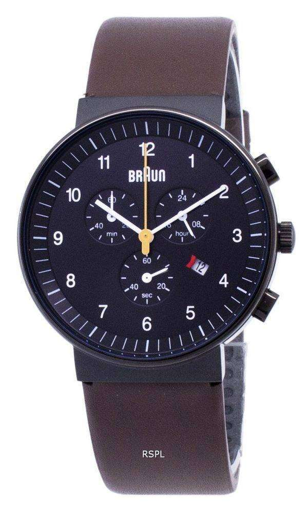 Braun Classic BN0035BKBRG Chronograph Quartz Men's Watch