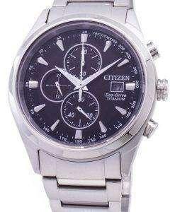 Citizen Eco-Drive CA0650-82F Chronograph Titanium Men's Watch