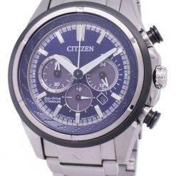 Citizen Eco-Drive CA4240-58L Titanium Chronograph Men's Watch