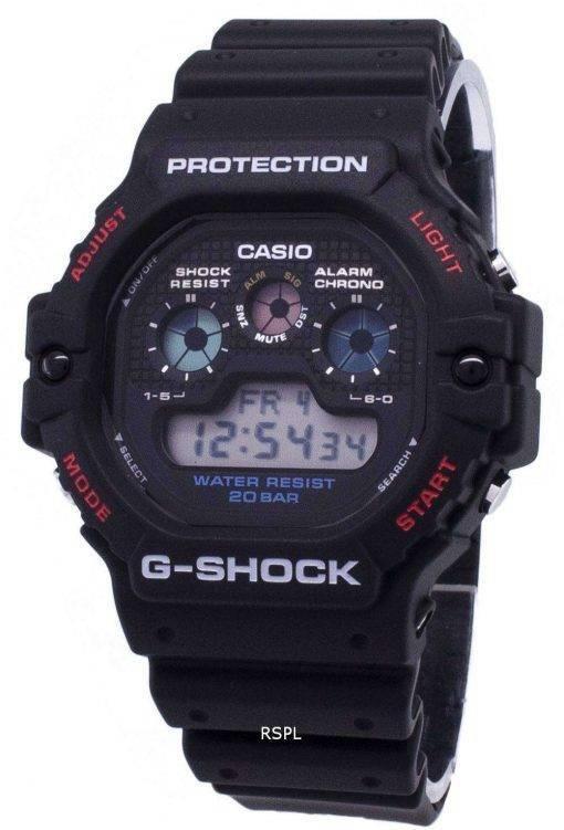 Casio G-Shock DW-5900-1 DW5900-1 Quartz Digital 200M Men's Watch