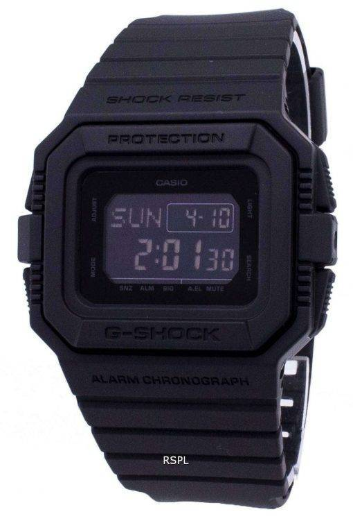 Casio G-Shock DW-D5500BB-1 DWD5500BB-1 Quartz Digital 200M Men's Watch