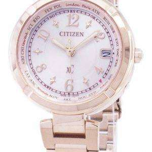 Citizen Eco-Drive EC1118-51W Radio-Controlled Japan Made Analog Women's Watch