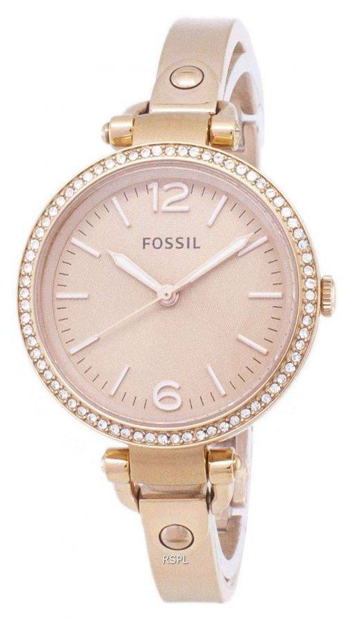 Fossil Georgia Glitz Bangle Crystal ES3226 Womens Watch