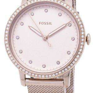 Fossil Neely Quartz Diamond Accent ES4364 Women's Watch
