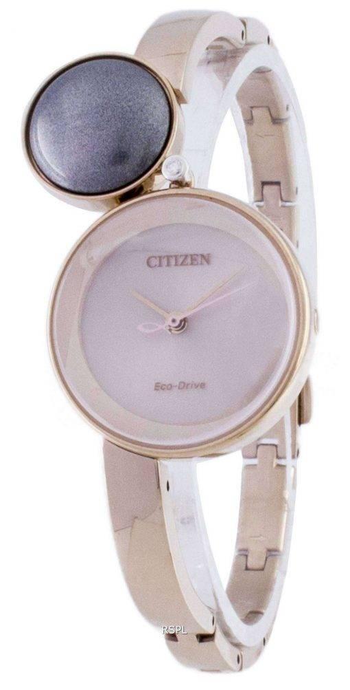 Citizen Eco-Drive EW5493-51W Diamond Women's Watch