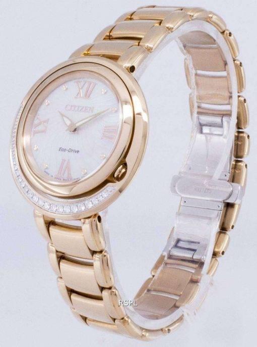 Citizen Eco-Drive EX1122-58D Diamond Women's Watch