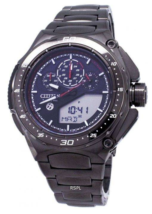 Citizen Eco-Drive JW0104-51E Limited Edition Titanium Analog Digital 200M Men's Watch