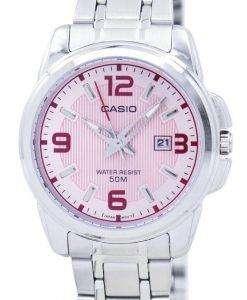 Casio Enticer Analog Quartz LTP-1314D-5AVDF LTP-1314D-5AV Womens Watch