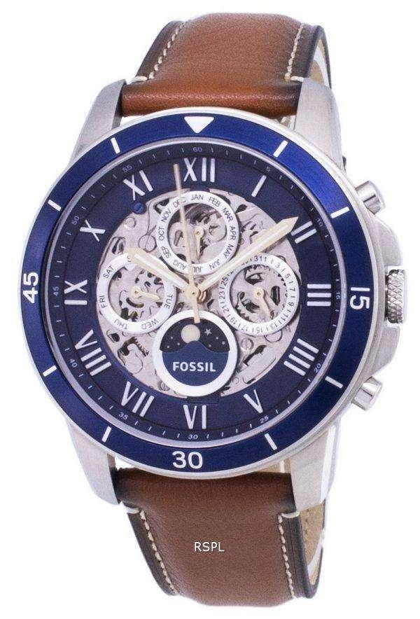 Fossil Grant Sport Sun & Moon Automatic ME3140 Men's Watch