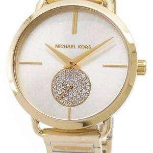 b08bd1c16afb Michael Kors Portia Diamond Accent Quartz MK3639 Women s Watch ...