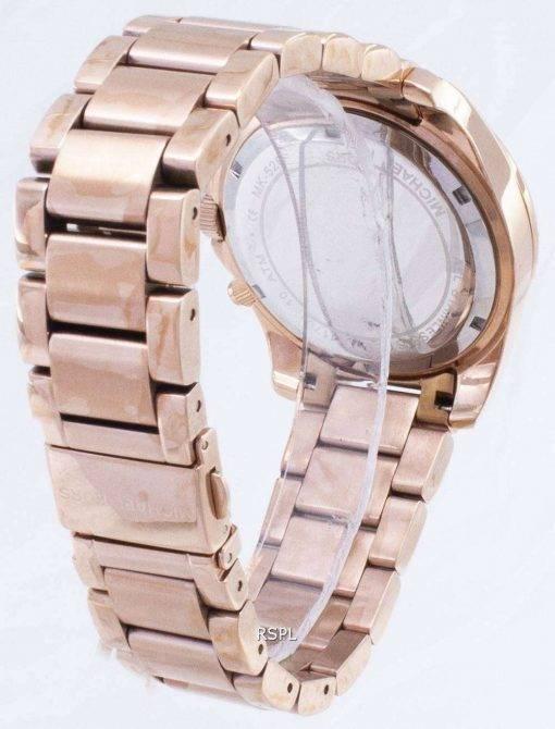 Michael Kors Rose Gold Plated Blair Glitz MK5263 Womens Watch