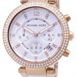 Michael Kors Parker Chronograph Crystals MK5774 Womens Watch