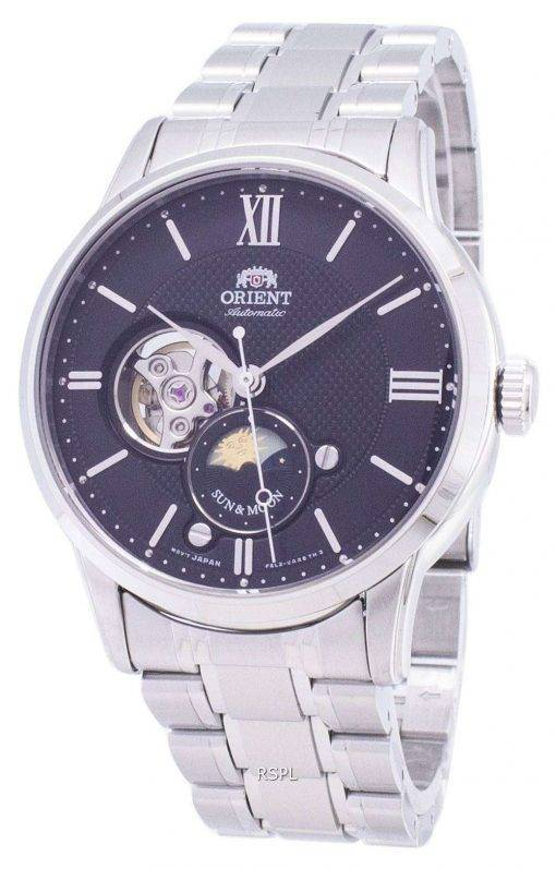 Orient Sun And Moon RA-AS0002B10B Open Heart Automatic Men's Watch
