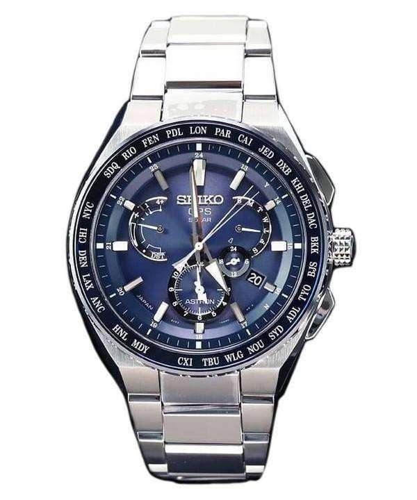666b4fe30 Seiko Astron SBXB155 GPS Solar Titanium Power Reserve Japan Made Men's Watch