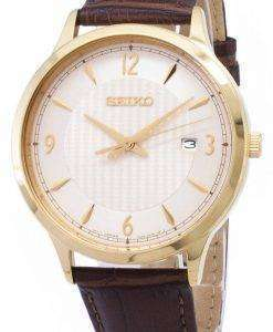Seiko Quartz SGEH86 SGEH86P1 SGEH86P Analog Men's Watch