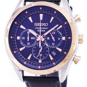 Seiko SSB160 SSB160P1 SSB160P Chronograph Quartz Men's Watch