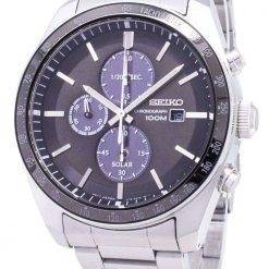 Seiko Solar SSC715 SSC715P1 SSC715P Chronograph Analog Men's Watch