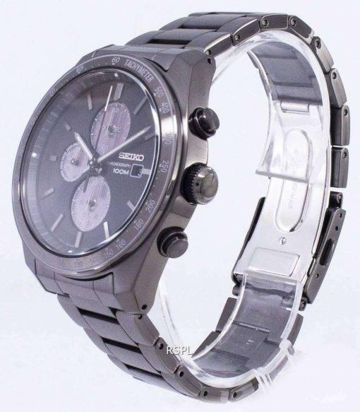 Seiko Solar SSC721 SSC721P1 SSC721P Chronograph Analog Men's Watch