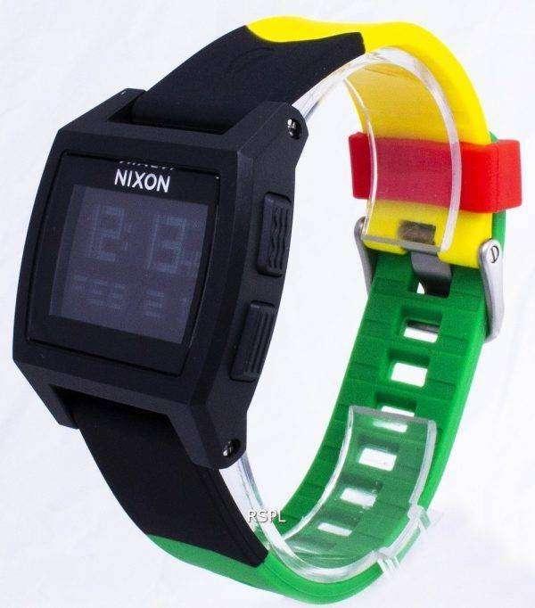 Nixon Base Tide Digital A1104-1114-00 Quartz Men's Watch