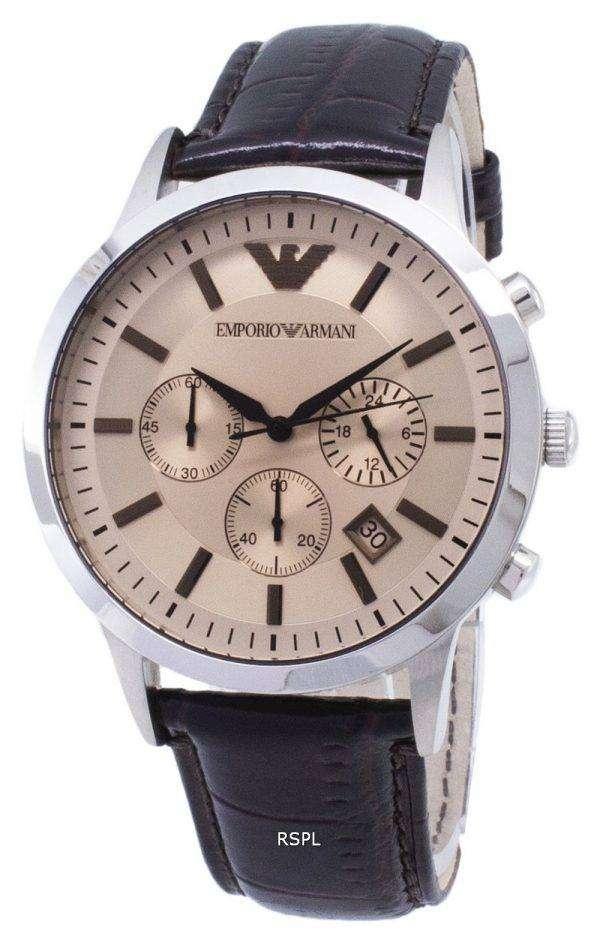 Emporio Armani Classic Chronograph Quartz AR2433 Men's Watch
