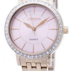 Citizen Quartz EL3043-81X Analog Diamond Accents Women's Watch