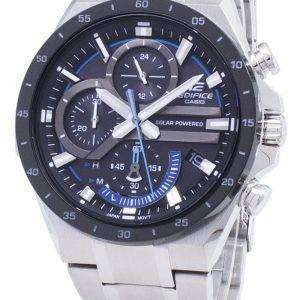 Casio Edifice EQS-920DB-1BV EQS920DB-1BV Solar Chronograph Men's Watch