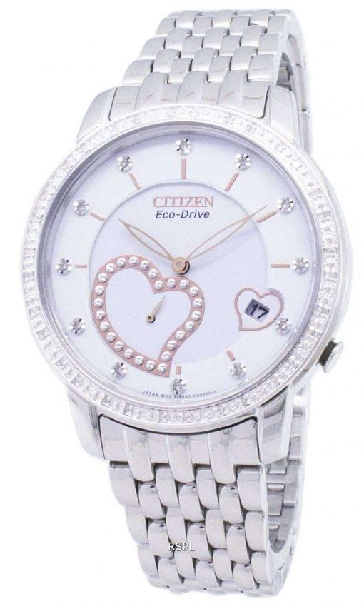 Citizen Eco-Drive EV1000-58A Diamond Accents Analog Women's Watch