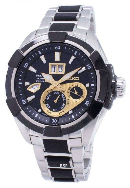 Seiko Velatura Kinetic Perpetual SNP119 SNP119P1 SNP119P Men's Watch