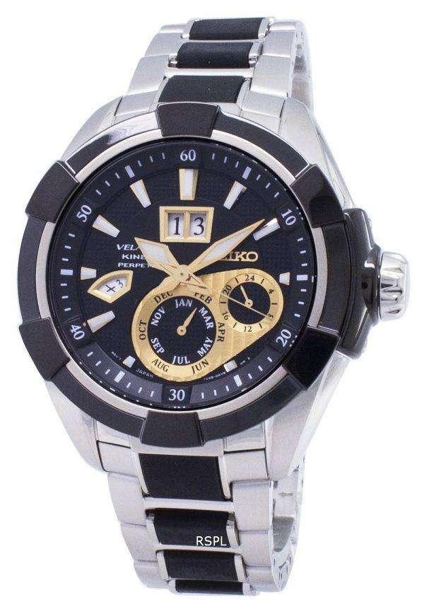 Seiko Velatura Kinetic Perpetual SNP119 SNP119P1 SNP119P Men's Watch