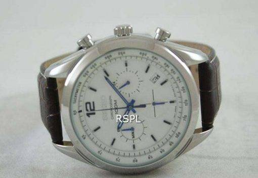Seiko Chronograph Tachymeter SSB095 SSB095P1 SSB095P Men's Watch