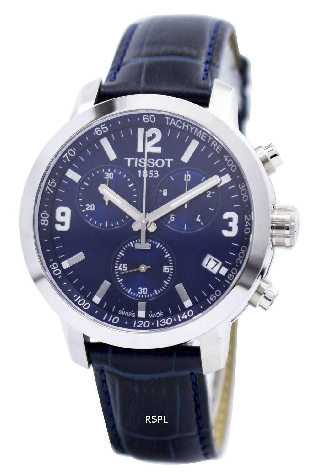 2bb700396 Tissot T-Sport PRC 200 Chronograph T055.417.16.047.00 T0554171604700 Men's  Watch