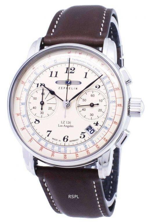 Zeppelin Series LZ126 7614-5 76145 Germany Made Men's Watch