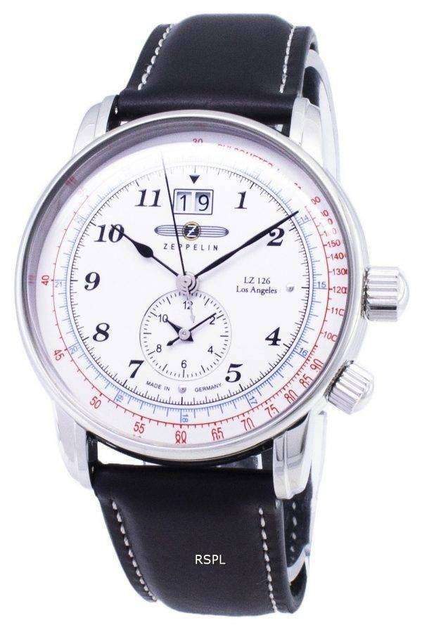Zeppelin Series LZ127 Graf 8644-1 86441 Germany Made Men's Watch