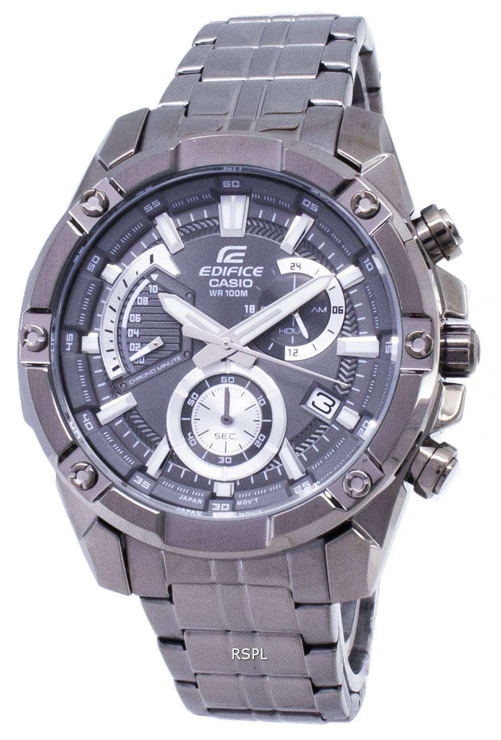 06af0b3bec03 Casio Edifice EFR-559GY-1AV EFR559GY-1AV Chronograph Analog Men s Watch