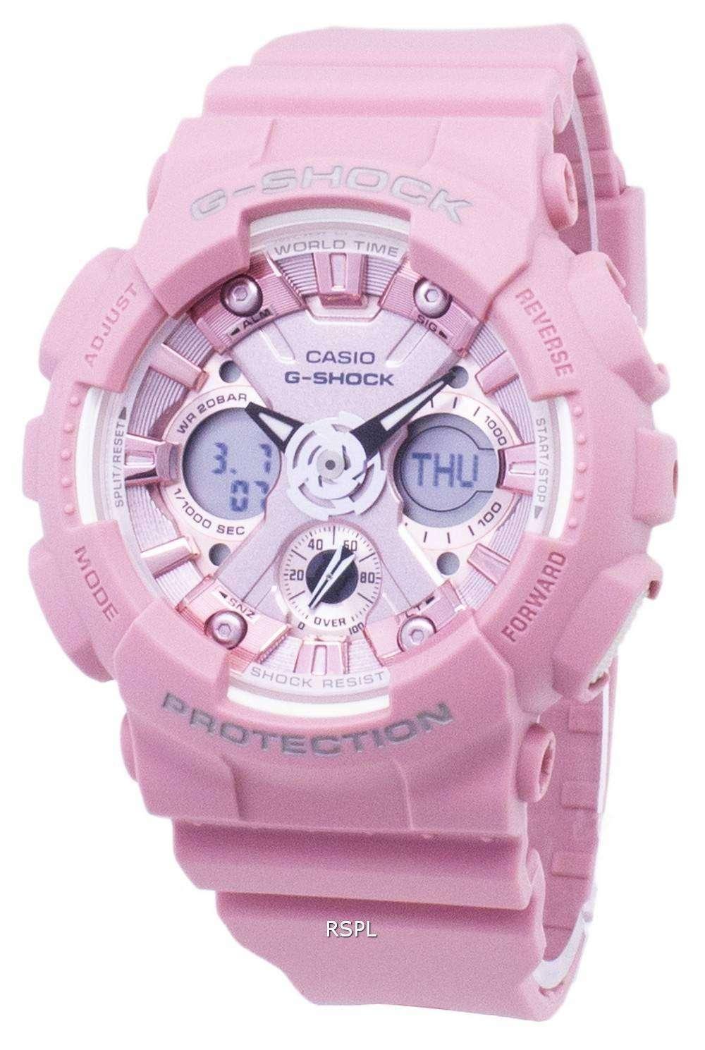 d4ec8f5d5a2 Casio G-Shock GMA-S120DP-4A GMAS120DP-4A Analog Digital 200M Men s Watch