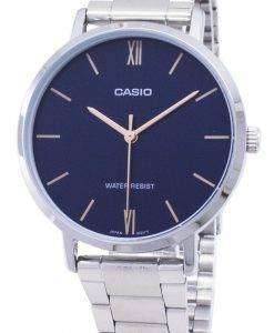Casio Quartz LTP-VT01D-2B LTPVT01D-2B Analog Women's Watch