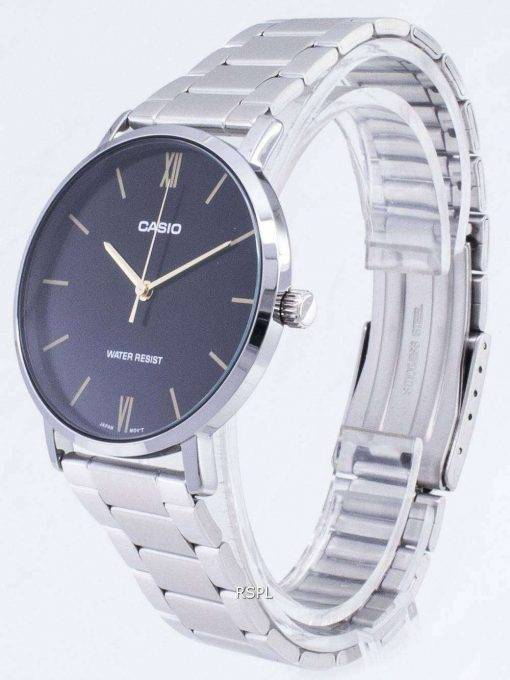 Casio Quartz MTP-VT01D-1B MTPVT01D-1B Analog Men's Watch