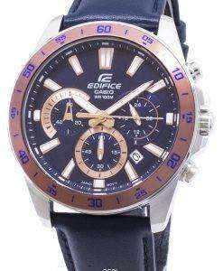Casio Edifice EFV-570L-2BV EFV570L-2BV Chronograph Quartz Men's Watch
