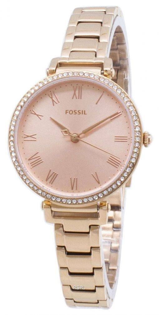 Fossil Kinsey ES4447 Diamond Accents Quartz Women's Watch