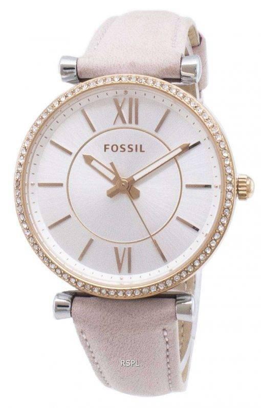 Fossil Carlie ES4484 Diamond Accents Quartz Women's Watch