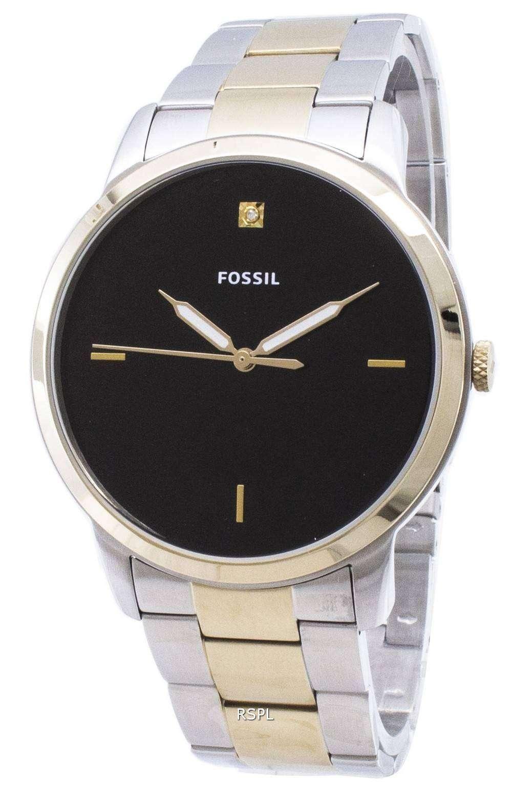 c09be093ed28 Fossil Minimalist FS5458 Quartz Analog Men s Watch - ZetaWatches