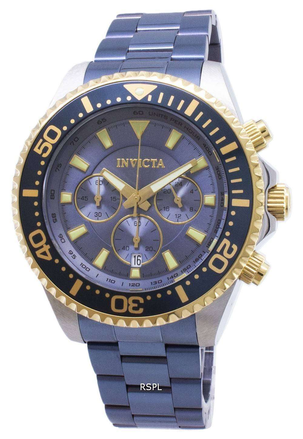 111cf87a4 Invicta Pro Diver 27482 Chronograph Quartz 200M Men's Watch ...