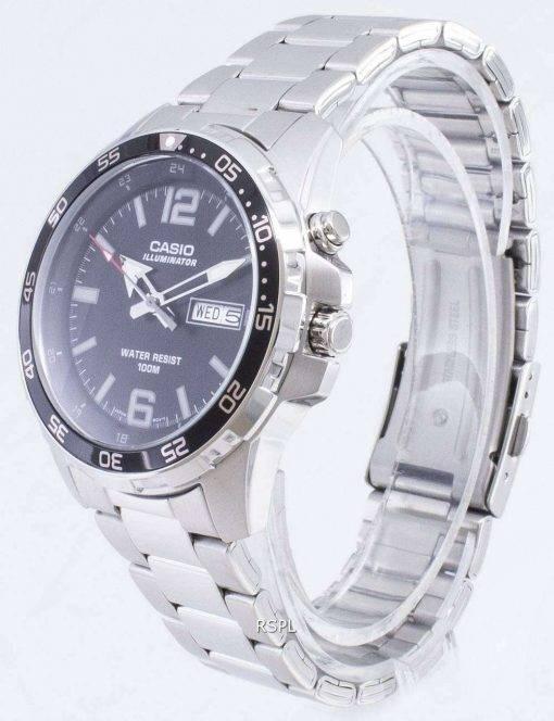 Casio Illuminator MTD-1079D-1A2V MTD1079D-1A2V Quartz Analog Men's Watch
