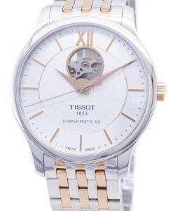 Tissot T-Classic Powermatic 80 T063.907.22.038.01 T0639072203801 Open Heart Men's Watch